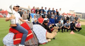 Rory And The Boys In Abu Dhabi