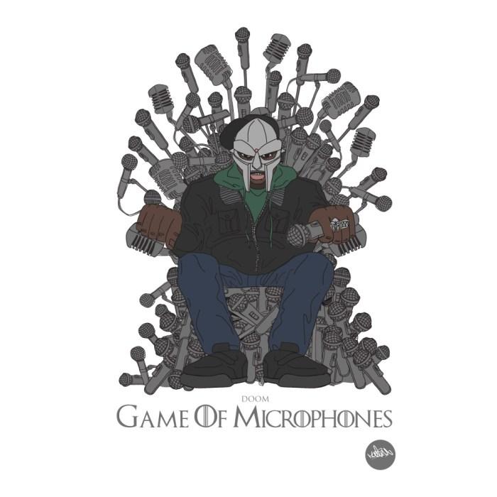 Game of Microphones MF Doom