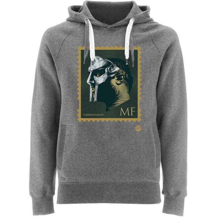 MFDOOM Stamp Grey Hoodie