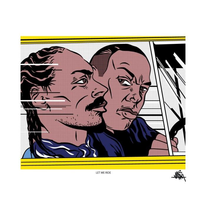 Roy Lichtenstein Snoop Dr Dre