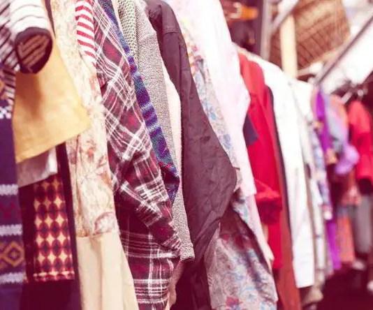 Banner til artikel om vintage shopping online