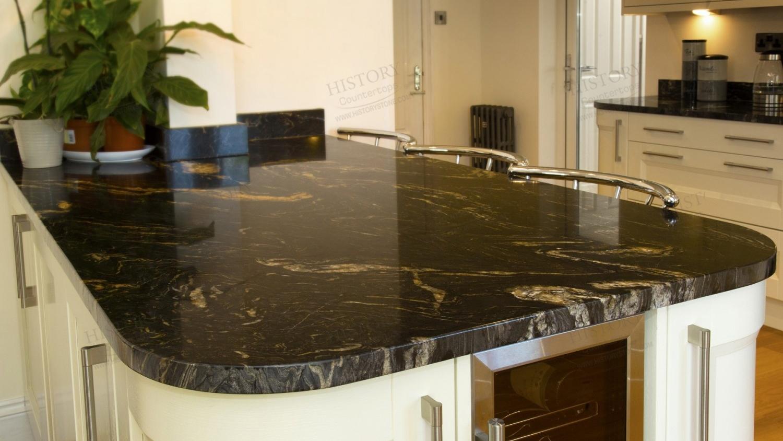 Black Granite Countertops And White Cabinets - Madison Art ... on Black Granite Countertops  id=91218