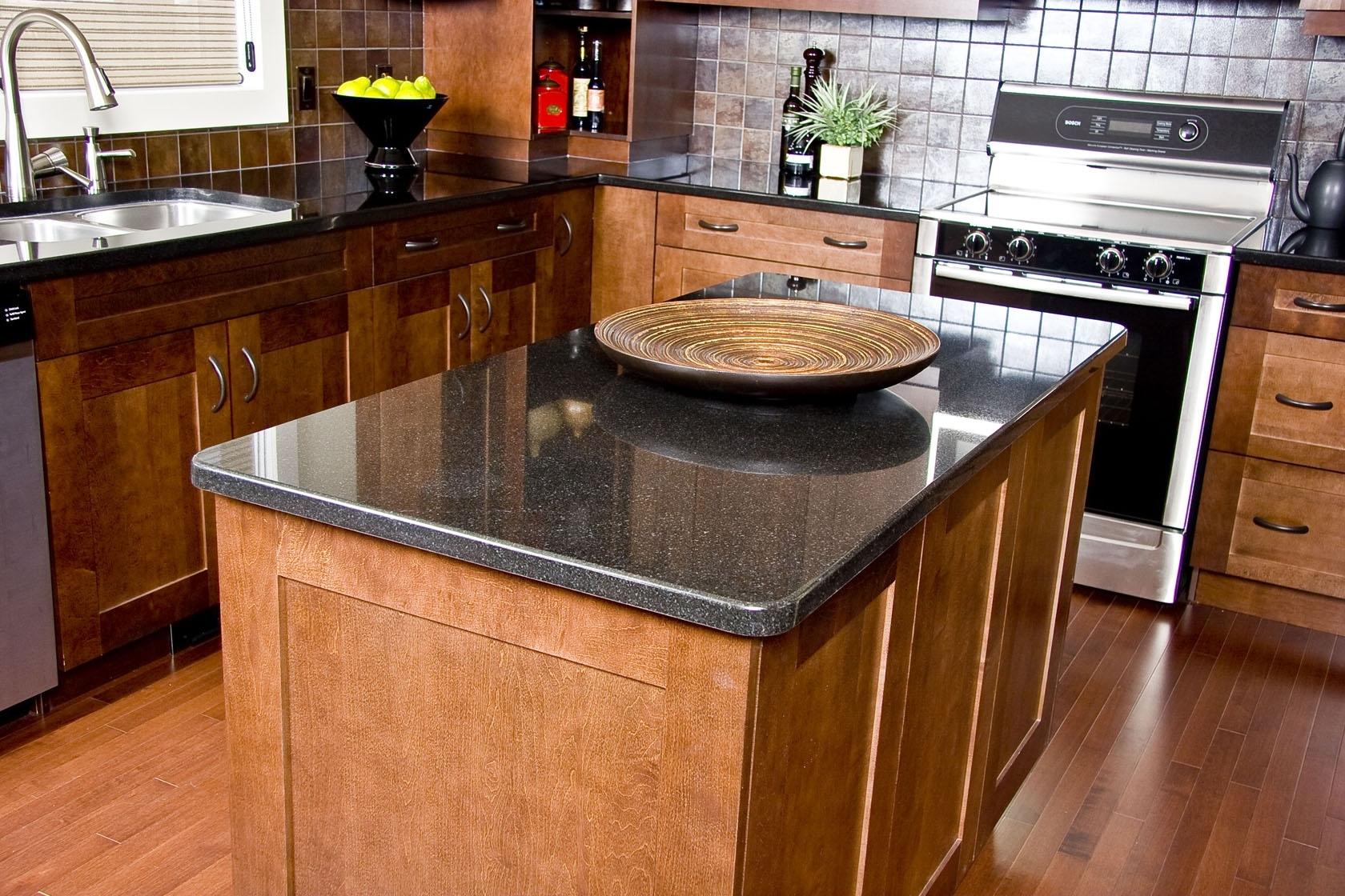 Dark Green Granite Countertops - Madison Art Center Design on Dark Granite Countertops  id=39998