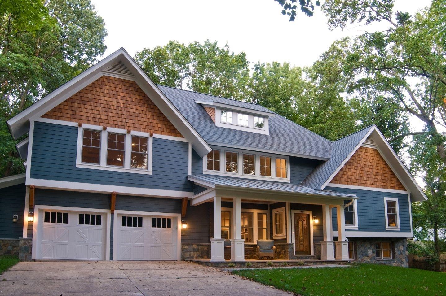 Split Level House Siding Ideas - Madison Art Center Design on House Siding Ideas  id=45257
