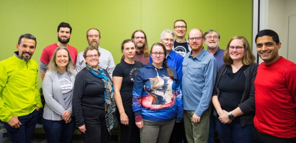 Madison Bikes board group picture