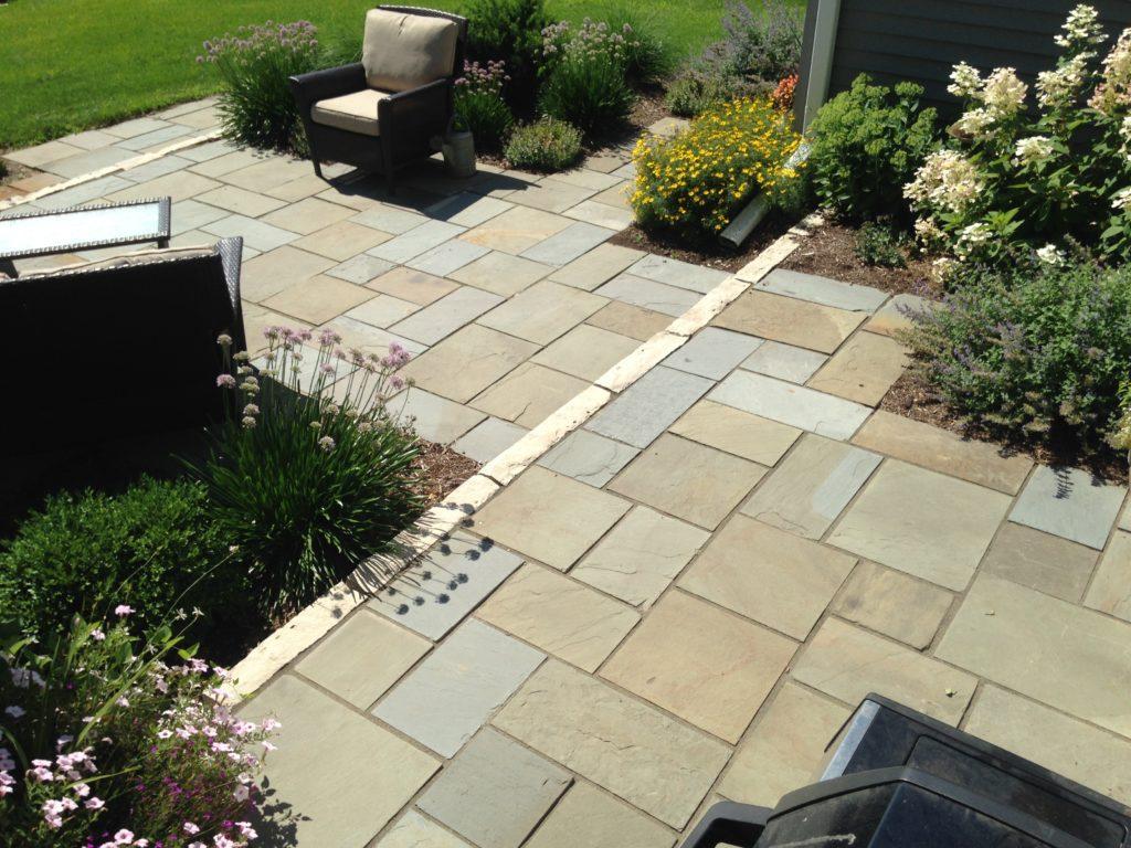 new york bluestone pattern flagstone