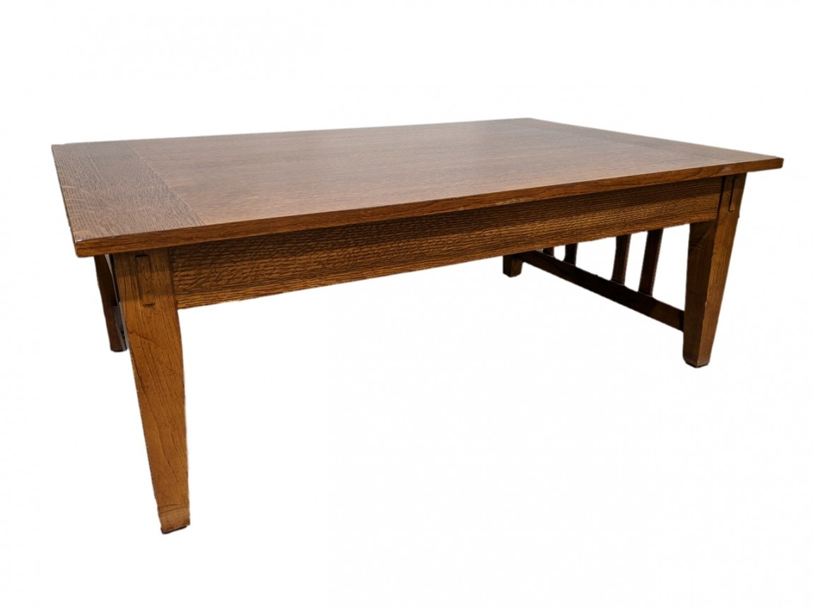 solid wood maple coffee table 44 inch