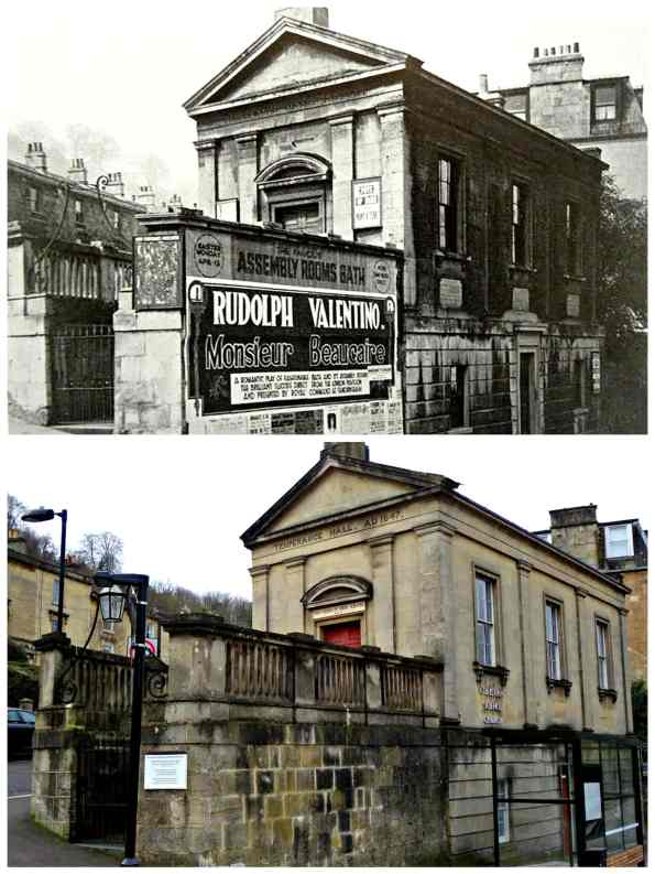 Widcombe Temperance Hall Then and now