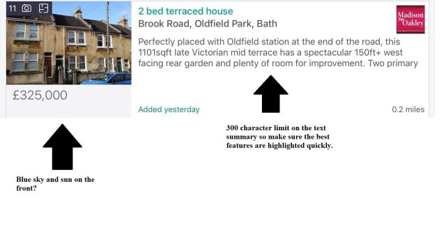 Rightmove search result