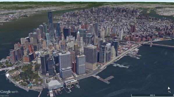 Duke Long Blog New York City Google Earth Hi Resolution Image