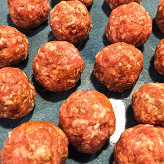 Indiske kødboller med tortellini