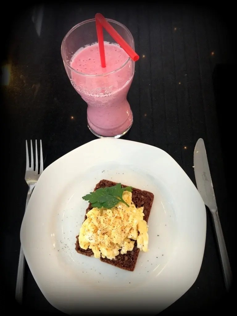 Hindbær smoothie