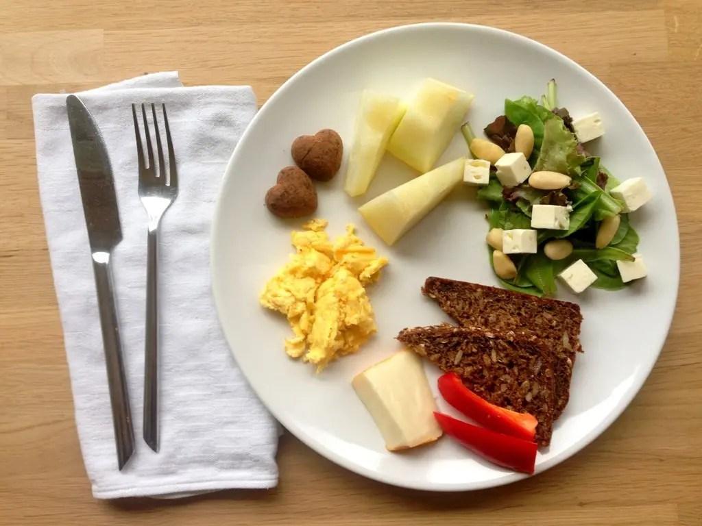 Vegetar-brunch