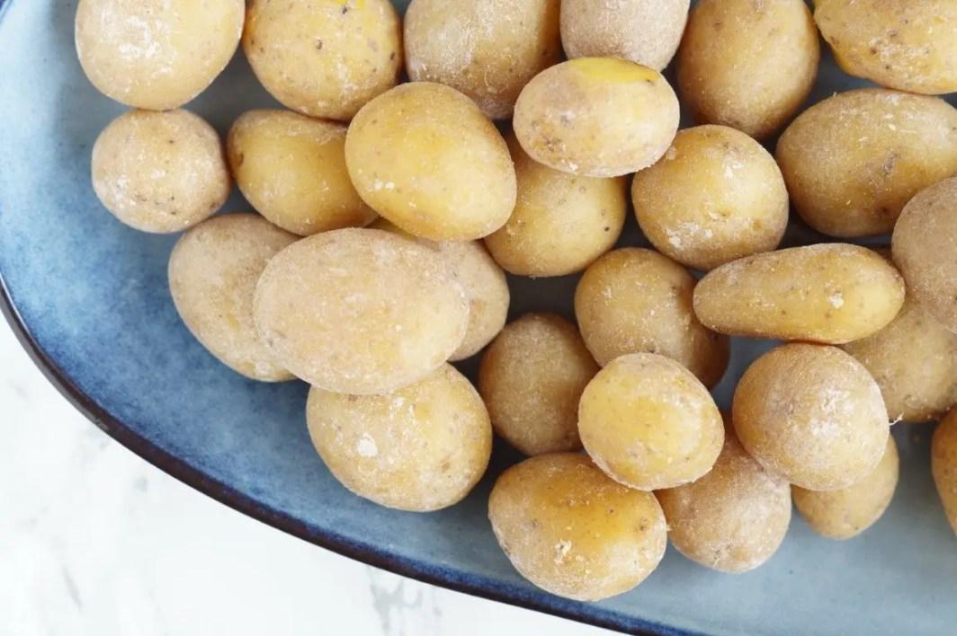 salt kogte kartofler