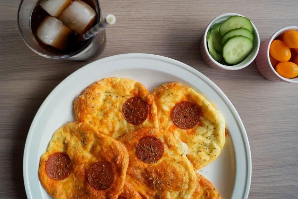 Low carb pizzaer (uden mel)