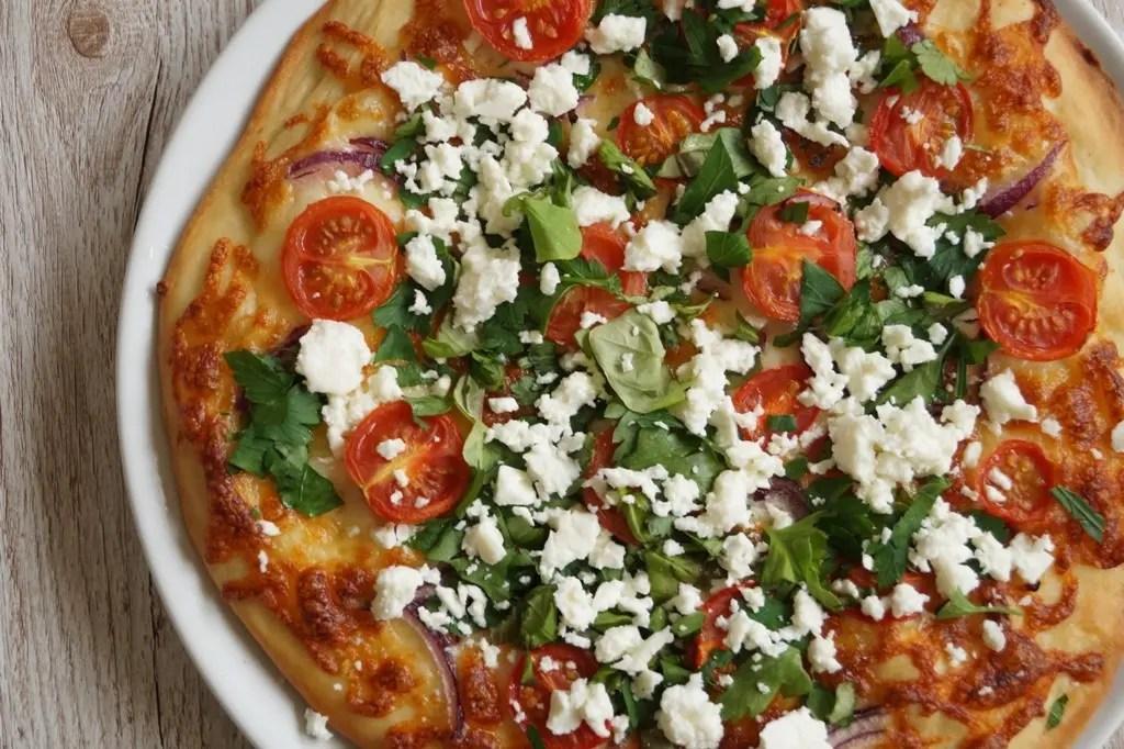 Græsk pizza