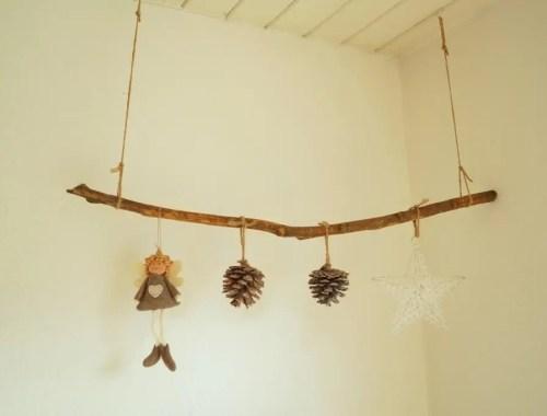 Sådan laver man en hjemmelavet juleranke i træ
