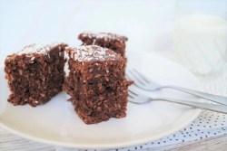 Chokoladekage med kokos