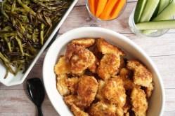 Hjemmelavede kyllingenuggets