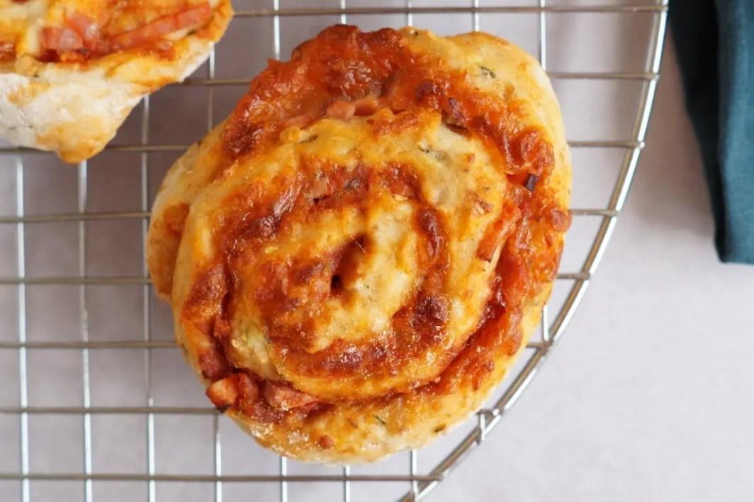 Pizza snegle