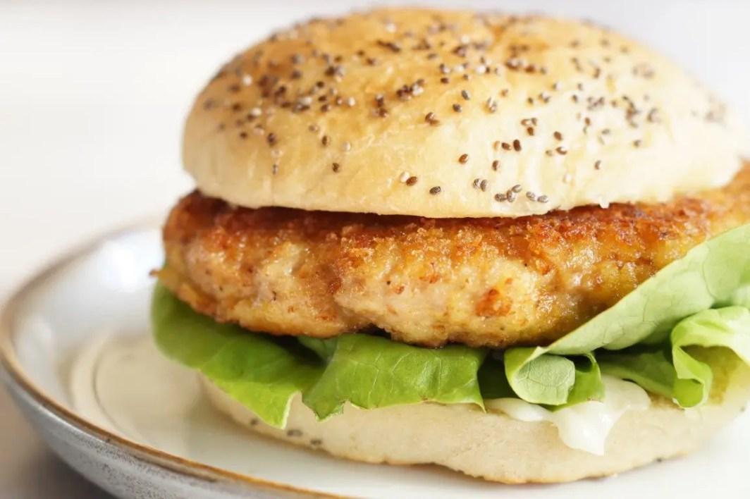 Kylling burger