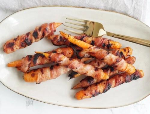 gulerødder med bacon