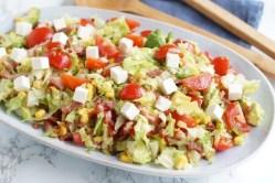 Salat med avocado
