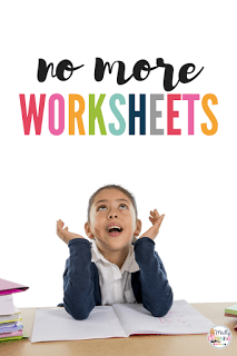 Schools push you to go paperless, and parents want a their kids taught the way they were. Learn when to use worksheets and when not to use them here!