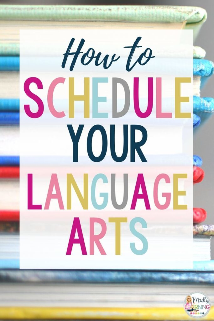 language arts | school | curriculum | grade 4 | grade 5 | elementary | organization | schedule