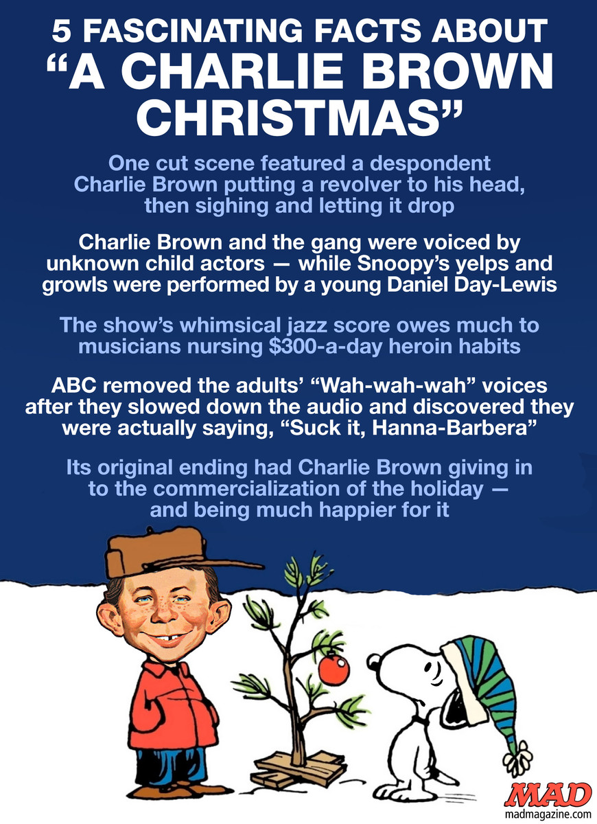 5 Fascinating Facts About A Charlie Brown Christmas