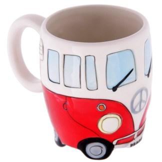 Mad Merch Camper Van Red Mug