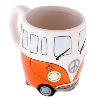 Mad Merch Camper Van Orange Mug