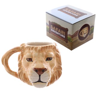 Mad Merch Lion Head Mug
