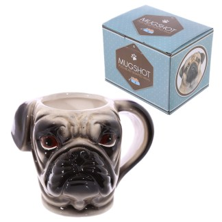 Mad Merch Pug Head Mug