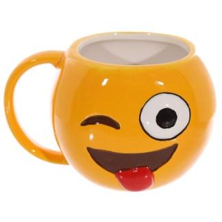 Wink Emoji Mug