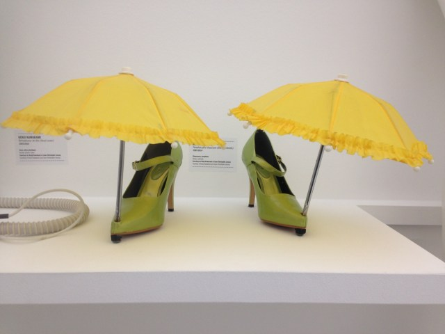 Kenji Kawakami parapluie à chaussures