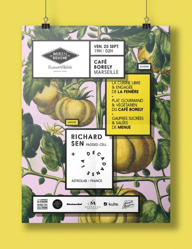 Mix en Bouche Marseille Café Borély