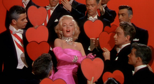Scène Culte #11 : Marilyn et ses diams dans Gentlemen Prefer Blonds gentlemenpreferblondes