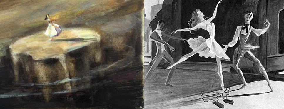 Scène Culte #21 : Le ballet des Chaussons Rouges montage red shoes 1