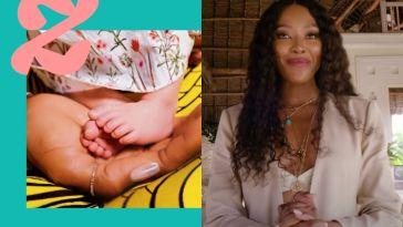 Naomi Campbell, jeune maman à 50 ans, et déjà harcelée de «adoption, PMA ou GPA?»