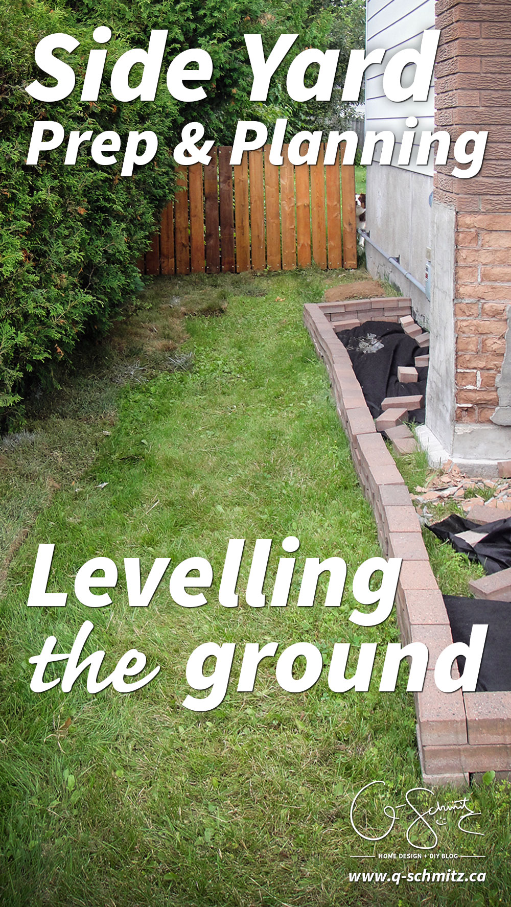 Starting the Side Yard Landscaping   Madness & Method on Front Side Yard Ideas id=85824