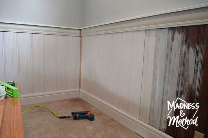 Install Tongue   Groove Panelling   Madness   Method Are you planning to install tongue and groove panelling  It s actually a  super quick DIY