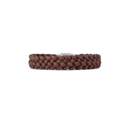Bracelet marron en liège pour homme