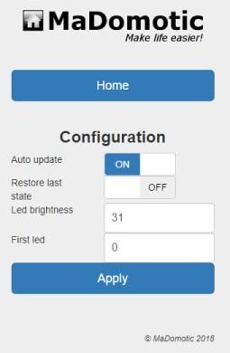 LAM Configuration