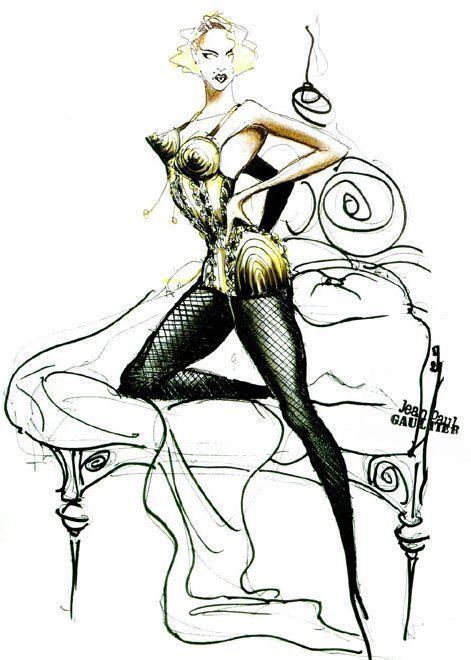 *時尚頑童Jean Paul Gaultier X 流行女王Madonna:搖擺你的Vogue DNA 7