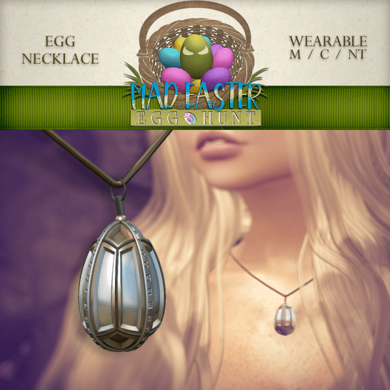 Egg Necklace 1000 Points