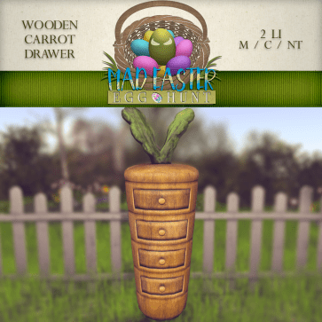 Wooden Carrot Drawer 2500 Points