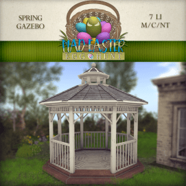 Spring Gazebo 3000 Points