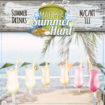 Summer Drinks 1000 Points