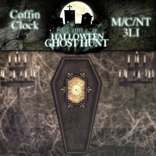 Coffin Clock - 2500 points